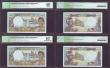 London Coins : A152 : Lot 300 : French Pacific Territories 500 francs (4) issued 1992, a consecutive numbered run series X.010, Pick...