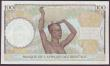 London Coins : A152 : Lot 302 : French West Africa 100 francs dated 10-9-1941 series C.330 232, Banque de l'Afrique Occidentale...