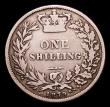 London Coins : A152 : Lot 3317 : Shilling 1879 S.3906, Davies 909A dies 5B with no die number, unlisted in the original Davies book V...