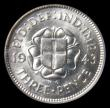London Coins : A152 : Lot 3379 : Silver Threepence 1943 BU and graded 88 by CGS
