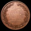 London Coins : A152 : Lot 820 : Prize Medal, Bee-Keepers association Obverse three beehives, 40mm diameter in copper First Prize for...