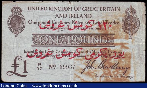 M21b UNC perfect 10 SHILLINGS GREAT BRITAIN com BRITISH ARMED FORCES