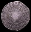 London Coins : A153 : Lot 1891 : Crown Charles I Truro Mint (1642-1643) S.3045 mintmark Rose About Fine/Fine on a large flan
