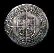 London Coins : A153 : Lot 2012 : Sixpence Edward VI Fine Silver Issue S.2483 mintmark Tun, approaching EF/GVF with a superb portrait,...