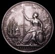 London Coins : A153 : Lot 2069 : Peace of Breda 1667 56mm diameter in silver by J.Roettier, Eimer 241 Obverse Bust right, laureate, R...