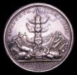 London Coins : A153 : Lot 2072 : Spanish Fleet destroyed off Cape Passaro 1718 45mm diameter in silver Eimer 481 Obverse Bust right l...