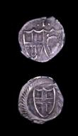 London Coins : A153 : Lot 2114 : Halfgroat Commonwealth ESC 2160 Fine, Penny Commonwealth ESC 2263 Good Fine both on slightly uneven ...