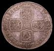 London Coins : A153 : Lot 2182 : Crown 1746 LIMA ESC 125 About VF/VF