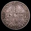 London Coins : A153 : Lot 2467 : Crown 1672 Third Bust VICESIMO QVARTO ESC 45 Fine the reverse slightly better
