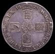 London Coins : A153 : Lot 2507 : Crown 1695 SEPTIMO ESC 86 VF with grey tone
