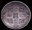 London Coins : A153 : Lot 2582 : Crown 1847 Gothic ESC 288 UNDECIMO GVF Ex-edge mount with traces of a skilful repair at the top
