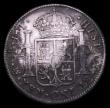 London Coins : A153 : Lot 2717 : Dollar George III Octagonal Countermark on 1802 Mexico City 8 Reales ESC 138 countermark NVF with co...
