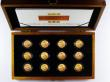London Coins : A153 : Lot 597 : The Sovereign 3 monarchs Mintmark set, a 12-coin set comprising Victoria Veiled Head, Edward VII and...