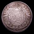 London Coins : A153 : Lot 834 : Anne Union of England and Scotland 1707 24mm diameter in silver, Eimer 425var by J.Croker/S.Bull Goo...