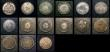 London Coins : A154 : Lot 1025 : Egypt, Sudan and Turkey (15) 19th An 20th Century, includes silver items in mixed grades some VF to ...
