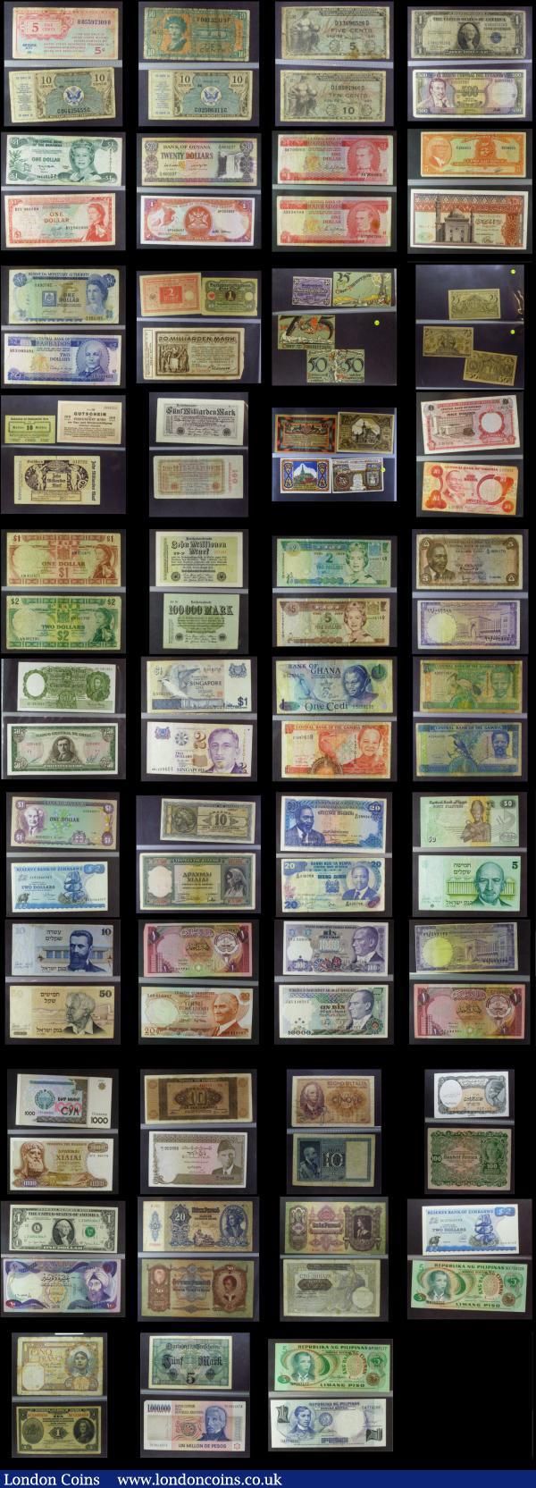 Set of 5 Coins Lot 10 50 Cruzeiros 1980-1985 AU- UNC BRAZIL 1 20 5