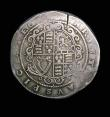 London Coins : A154 : Lot 1575 : Crown Charles I Truro Mint, S.3045 mintmark Rose Near Fine with some weak areas and a flan crack at ...