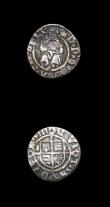 London Coins : A154 : Lot 1598 : Groat Henry VIII Second Coinage Laker Bust B, Crown arch does not break inner circle, S.2337D Mintma...