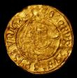 London Coins : A154 : Lot 1603 : Half Angel Henry VII S.2192 mintmark Pheon Fine with a light crease