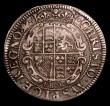 London Coins : A154 : Lot 1677 : Shilling Charles I York Mint bust type 5 in lions skin garniture S.2874 mintmark Lion Fine with a fl...