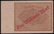 London Coins : A154 : Lot 170 : Germany - Weimar Republic Fifth Issue 1000 Marks 15 December 1922 with single prefix 1P 933911 Pick ...