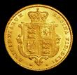 London Coins : A154 : Lot 2083 : Half Sovereign 1853 Marsh 427 GEF/AU the obverse with some light contact marks