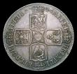 London Coins : A154 : Lot 2144 : Halfcrown 1746 LIMA ESC 606 GVF nicely toned