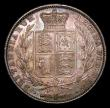 London Coins : A154 : Lot 2178 : Halfcrown 1840 ESC 673 UNC with attractive and choice old toning