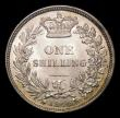 London Coins : A154 : Lot 2556 : Shilling 1846 ESC 1293 Lustrous UNC with hints of toning