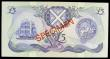 London Coins : A154 : Lot 321 : Scotland Bank of Scotland £5 SPECIMEN dated 6th November 1991 series EK000000, signed Pattullo...