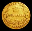 London Coins : A154 : Lot 721 : Australia Half Sovereign 1858 Sydney Branch Mint Marsh 383 VG