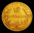 London Coins : A154 : Lot 737 : Australia Sovereign 1868 Sydney Branch Mint Marsh 373 Good Fine