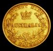 London Coins : A154 : Lot 738 : Australia Sovereign 1868 Sydney Branch Mint Marsh 373 Good Fine