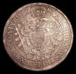 London Coins : A154 : Lot 741 : Austria Thaler 1695 KM#1275.3 About VF