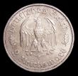 London Coins : A154 : Lot 797 : Germany - Third Reich 2 Reichsmark 1934F 175th Anniversary of the birth of Schiller KM#84 A/UNC