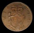 London Coins : A154 : Lot 829 : Ireland Farthing 1760 S.6610 GEF with a hint of lustre, slabbed and grade CGS 65
