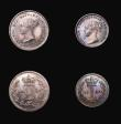 London Coins : A155 : Lot 1103 : Maundy Set 1839 comprising Fourpence 1839 NGC MS65, Threepence 1839 NGC MS66 and Twopence 1839 NGC M...