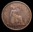 London Coins : A155 : Lot 1206 : Penny 1874H Freeman 69 dies 6+I VG Rare