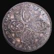 London Coins : A155 : Lot 2083 : Birth of Prince Charles 1630 30mm diameter in silver struck on a thin flan Obverse 4 oval shields, r...