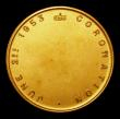 London Coins : A155 : Lot 2092 : Coronation of Queen Elizabeth II 1953 in 9 carat gold, Obverse Crowned bust right ELIZABETH II R. Re...