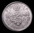 London Coins : A155 : Lot 2162 : Mint Error- Mis-Strike Sixpence 1966 NEF struck off-centre with around 1mm blank between 2 and 6 o&#...