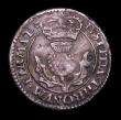 London Coins : A155 : Lot 2297 : Scotland Twenty Pence Charles I Third Coinage S.5581 B below bust and at end of Reverse legend Good ...