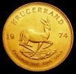 London Coins : A155 : Lot 2309 : South Africa Krugerrand 1974 Unc