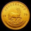 London Coins : A155 : Lot 2310 : South Africa Krugerrand 1974 Unc