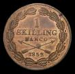London Coins : A155 : Lot 2366 : Sweden Skilling 1852 KM671 lustrous Unc