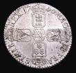 London Coins : A155 : Lot 640 : Shilling 1700 Small 00 in date ESC 1121A EF or near so with some light haymarking and a few light sp...