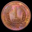 London Coins : A156 : Lot 1170 : East Caribbean States - British Caribbean Territories 1 Cent 1960 VIP Proof/Proof of record KM#2 UNC...