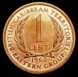 London Coins : A156 : Lot 1172 : East Caribbean States - British Caribbean Territories 1 Cent 1962 VIP Proof/Proof of record KM#2 UNC...