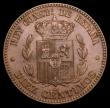 London Coins : A156 : Lot 1367 : Spain 10 Centimos 1877 KM#675 GEF and nicely toned