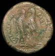 London Coins : A156 : Lot 1649 : Egypt.  Ptolemy II.  Ae 40.  C, 285-246 BC.  Alexandria mint.  Rev; Two eagles standing left, monogr...
